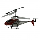 HL8091 USB Rechargeable 3.5-CH Palm-Size Mini IR R/C Helicopter Set - Red