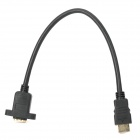 Jin Bai Jia V1.4 HDMI Male to Female HD Extension Cable for TVs / Projectors + More - Black (30cm)