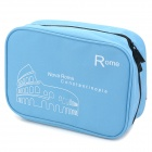 WINNER A14 Travel Camping Leisure Nylon Makeup Wash Bag - Blue