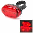 LY-P03 Universal Tail Lamp for Bicycle - Red + Black (2 x AAA)