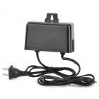 Hanging Style Water Resistant AC Power Charger Adapter w/ 5.5 x 2.5mm + 4.0 x 1.7mm Plug - (US Plug)