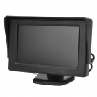 "YC-43 4.3"" LCD Car Rear-View Stand Security Monitor - Black (PAL / NTSC)"