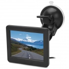 "3.5"" Display Screen Car Rear-View Stand Security Monitor w/ 2-CH AV Input"