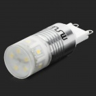 Msled Gv03 3W 200lm 6500K 11-SMD 2323 LED White Light Bulb -Yellow + White + Silver