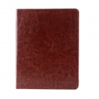 Neomemos Protective Leather Case w/ Stand for Ipad 2 / 3 - Brown