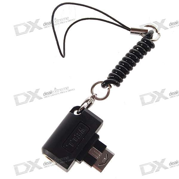 3.5mm Audio Adapter Keychain for LG KG800/KC550/KE970