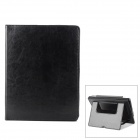 Neomemos Protective Leather Case w/ Stand for Ipad 2 / Ipad 3 - Black