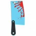 Bloody Kitchen Knife Style Silicone Case for Iphone 5 - Blue + Red + Black