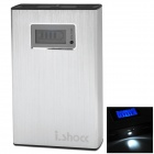 I.SHOCK 12000mAh Mobile Power Bank - Silver