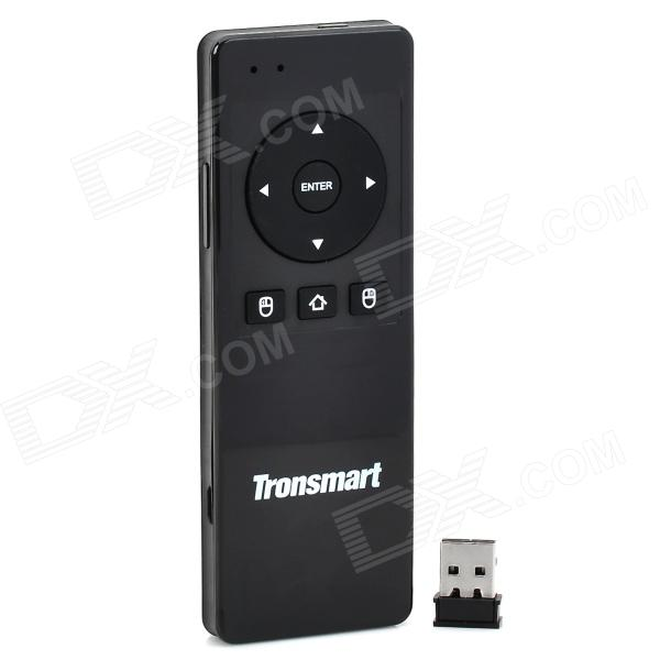 Tronsmart TSM-01 2.4GHz Wireless Air Mouse + 49-клавишная клавиатура для TV Box / ПК + больше - черный