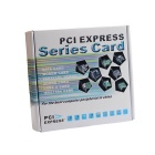 PCI-Express to USB 3.0 2-Port Card - Black + Silver