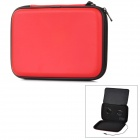 "Multi-Function Protective PU Leather Case w/ 3.5mm Speaker for 7"" Tablet PC - Red + Black"