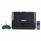 NS-1389 Portable 13.3'' TFT LED Digital DVD Player w/ Game / FM Radio / SD / TV - Black + Silver