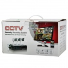 8-CH CMOS 480TVL IR Night Vision Weatherproof Surveillance CCTV DVR + Camera System w/ 500GB HDD