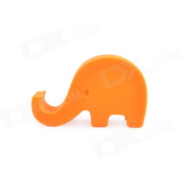 CP-061 Elephant Style Silicone Cell Phone Holder Stand - Orange