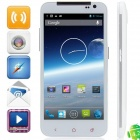 "U930 MTK6572 Android 4.2.2 WCDMA Bar Phone w/ 5.0"", Tri Network Standby, FM, Wi-Fi and GPS - White"