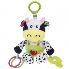 8002 Lovely Voiced Cow Doll Baby Toys - Multicolored
