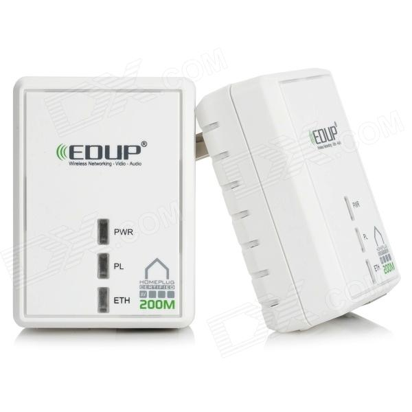 EP-PLC5511 200Mbps PN928-EBg RJ45 HomePlug AV Ethernet Bridge - White