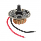 4-Mode 0.8~1.5A LED Driver Circuit Board for XM-L Bicycle Headlamp / Flashlight - Black (3.0~8V)