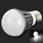 YP-QP-4W-ZBG-01 4w 120lm 8300k White Light E27 5730 SMD LED Lamp Bulb - Gray + White + Silver