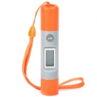 "DT8230 Handy Portable 0.8"" Display Infrared Temperature Meter Thermometer - Orange + Gray (2 x LR44)"