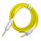 3.5mm Male to Male Audio Extension Cable - Yellow + Silver (100 CM)