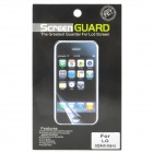 Protective Matte Frosted Screen Protector Film Guard for LG Optimus G2 - Transparent