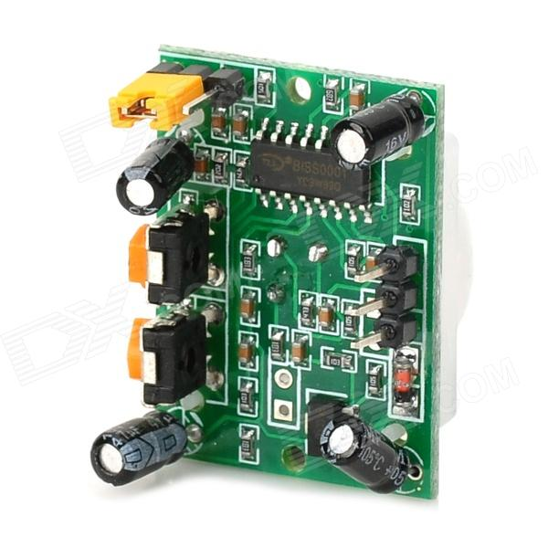 HC-SR501 Human Body Pyroelectricity Infrared Sensor Module - Green + White
