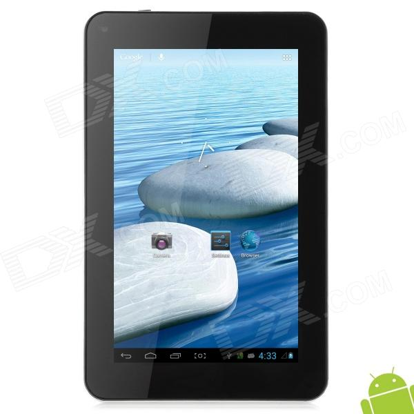 "KO PARA7 Full View Quad Core 7"" Android 4.1 Tablet PC w/ 1GB RAM / 8GB ROM / HDMI - White + Black"