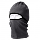 QINGLONGLIN Outdoor Windproof Fleece Balaclava Helmet Cap - Dark Grey