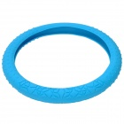 Car Silicone Steering Wheel Cover - Blue