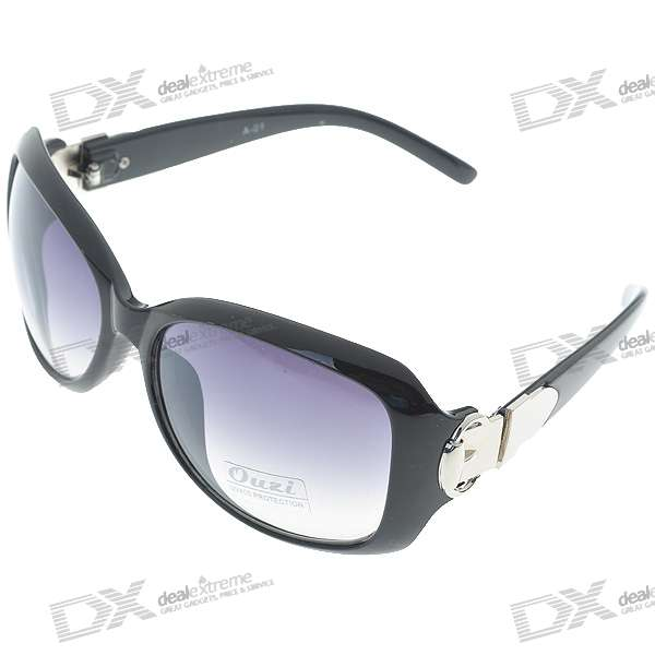 Fashion UV400 UV Protection Resin Lens Sunglasses with Pouch