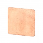 A009 Pure Copper Heat-conducting Pad for CPU - Copper
