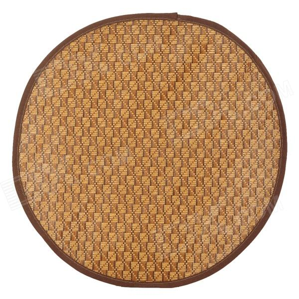Pet Dog / Cat Sleeping Bamboo Rattan Mat - Brown (Size L) pet carrier bag for cat dog medium size brown