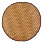Pet Dog / Cat Sleeping Bamboo Rattan Mat - Brown (Size L)