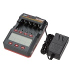 SKYRC SK-100059-04 NC2500 4 x AA / AAA NiMH Battery Charger & Analyzer w/ Bluetooth - Black + Red