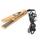 JIANRONGMEI JR-102 Professional Vibration Hair Straightener - Golden