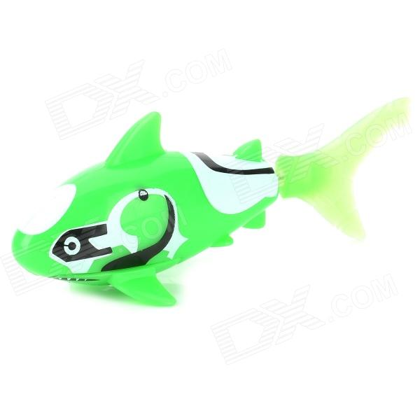 F2 Electronic Shark Toy Pet - Green + White (2 x LR44) expert 220 w 200 f2 f2 f2 000 серии