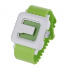 CAR MATE H391C Creative Watch Shaped Car Perfume - Green + White (3mL)