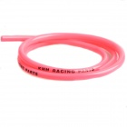 XG301 DIY Rubber Motorcycle Oil Tube - Deep Pink (100cm)
