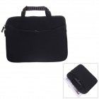Fashionable Handbag Style Protective Polyester + Sponge Pouch Bag for Ipad - Black
