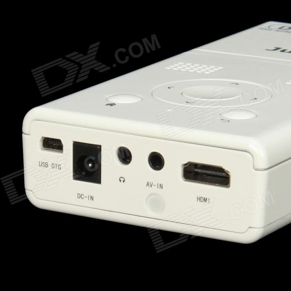 Lz h100 android 4 1 dlp mini projector w 4gb bluetooth for Bluetooth hdmi projector