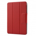 "Protective PU Leather + PC + Microfiber Case Cover Stand for Google Nexus 7""II 2013 - Red"