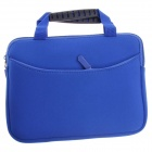Fashionable Handbag Style Polyester + Sponge Protective Pouch Bag for Ipad MINI - Blue