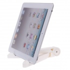 Support de support portable pour tablette PC - Blanc