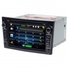 "HF 7681G 7"" Touch Screen Car DVD Player w/ GPS / Radio / Bluetooth for Opel - Black"