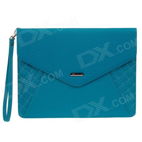 "G-COVER PU Leather Hand Bag for Ipad 2 / 3 / 4 / Samsung Galaxy Tab P5100 10"" Table PC - Blue"