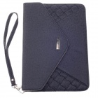 "G-COVER PU Leather Handbag for Ipad MINI / Samsung Galaxy Tab P3100 7"" Table PC - Black"