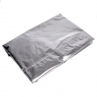 LONGCANG Advanced Reflective Anti Theft Half Car Cover - Silver