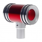 MOMO Hammer Type Automobile Zinc Alloy Gear Lever Head - Red + Silver
